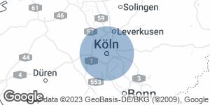 Landkarte mit Dolmetscherstandort